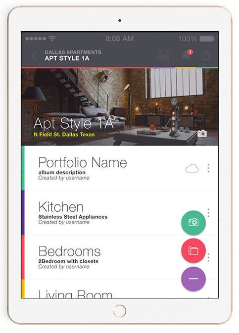 CTM iPad Real Estate Mobile Application